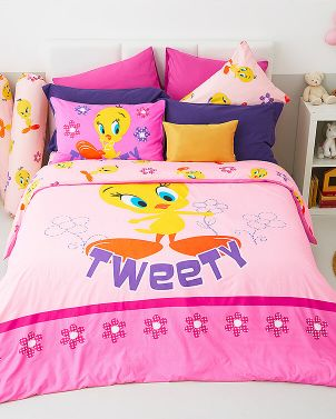 Lotus รุ่น Pop-art ชุดผ้าปูที่นอน LI-L-06