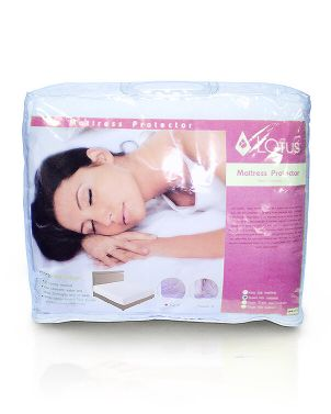 Lotus Mattress Protector (Full)