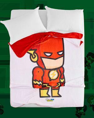 Eco-Fur Blanket - DC Scribblenauts 01