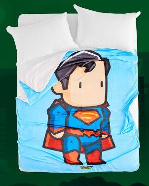 Eco-Fur Blanket - DC Scribblenauts 02