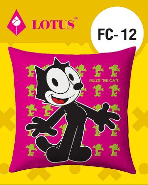 Lotus Cushion Felix The Cat-CU30-FC 12 30″x30″