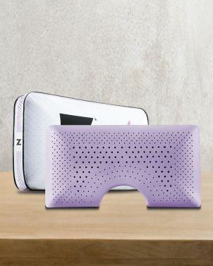 Malouf Shoulder Zoned Dough® Lavender Pillow