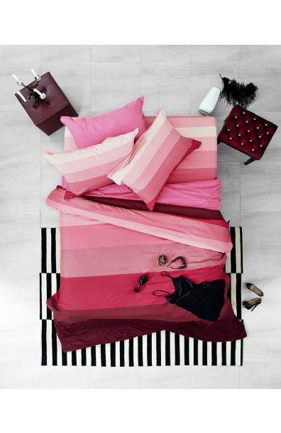 Lotus รุ่น Impression Stripies ชุดผ้าปูที่นอน LI-SD-06B