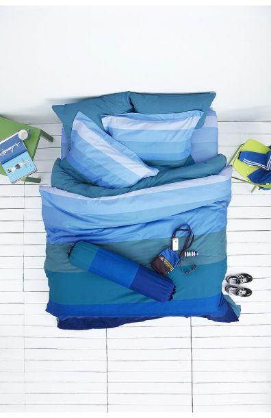 Lotus รุ่น Impression Stripies ชุดผ้าปูที่นอน LI-SD-09B