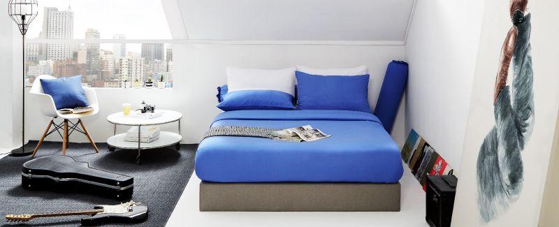 Dunlopillo รุ่น Solid ชุดผ้าปูที่นอน DL-COL-OCEAN