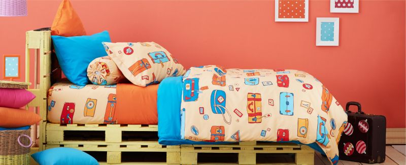 Lotus รุ่น Aura ชุดผ้าปูที่นอน Kids LA-K-06