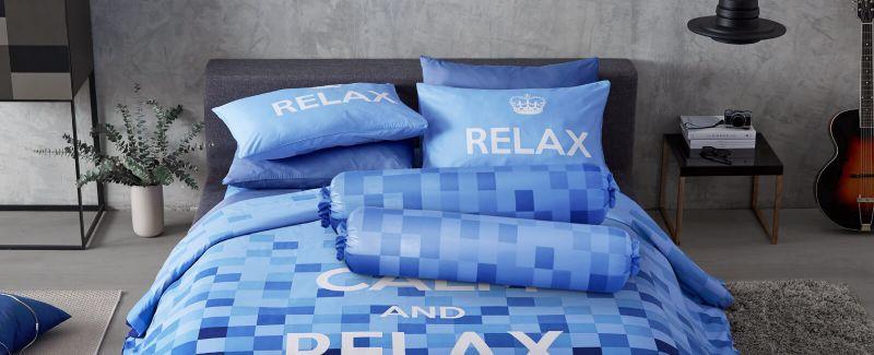 Lotus รุ่น Keep Calm ชุดผ้าปูที่นอน LI-KC-01