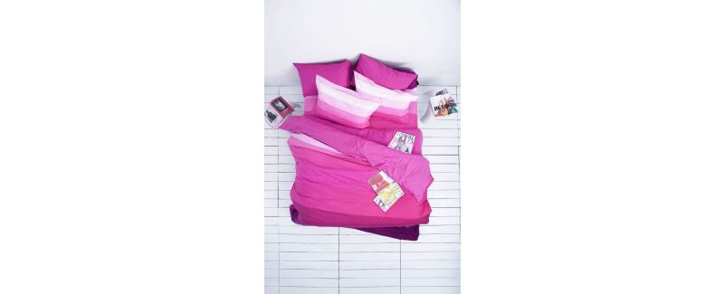 Lotus รุ่น Impression Stripies ชุดผ้าปูที่นอน LI-SD-05B
