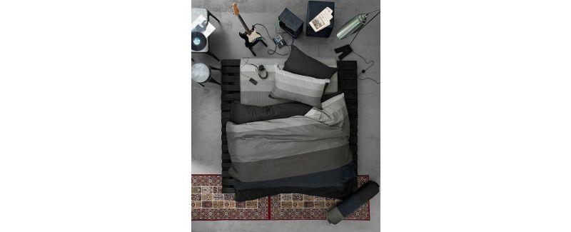 Lotus รุ่น Impression Stripies ชุดผ้าปูที่นอน LI-SD-12B