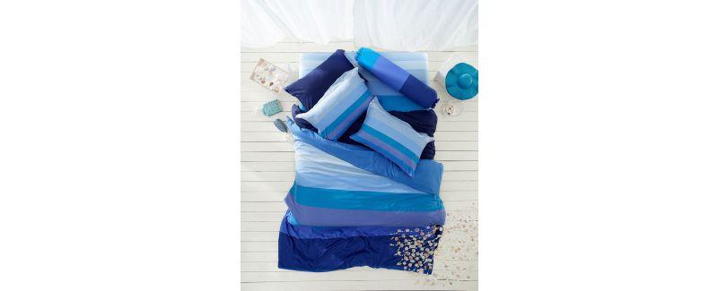 Lotus รุ่น Impression Stripies ชุดผ้าปูที่นอน LI-SD-15B