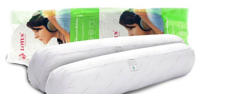 "Lotus Health Vacuum Bolster 15""X44"" (2 pcs.)"