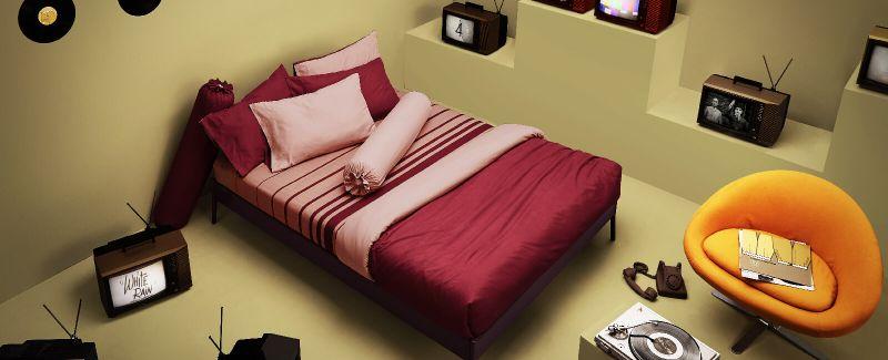 Lotus รุ่น Lovely ชุดผ้าปูที่นอน LY-03-06