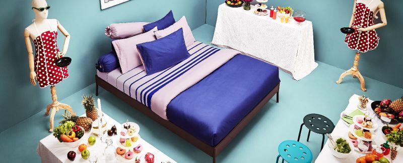 Lotus รุ่น Lovely ชุดผ้าปูที่นอน LY-16-17