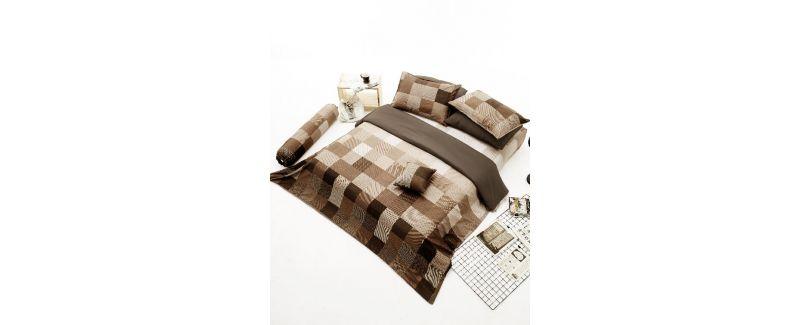 Dunlopillo รุ่น Monoblog ชุดผ้าปูที่นอน DL-BROWNIE-M