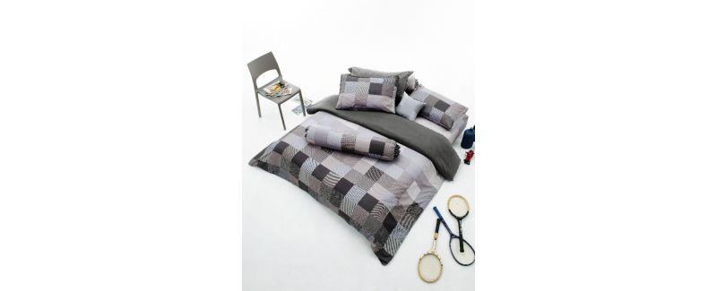Dunlopillo รุ่น Monoblog ชุดผ้าปูที่นอน DL-SLATE GREY-M