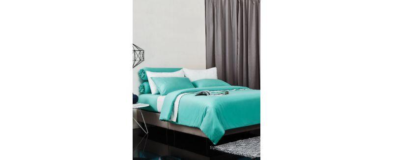 Dunlopillo รุ่น Solid ชุดผ้าปูที่นอน DL-COL-MY MINT