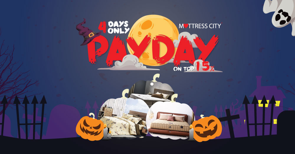 Halloween Pay Day - All products with additional discount 15% on top