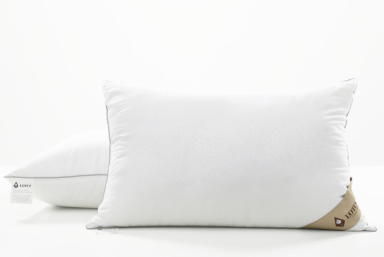 Lotus Accessory Microfiber Pillow