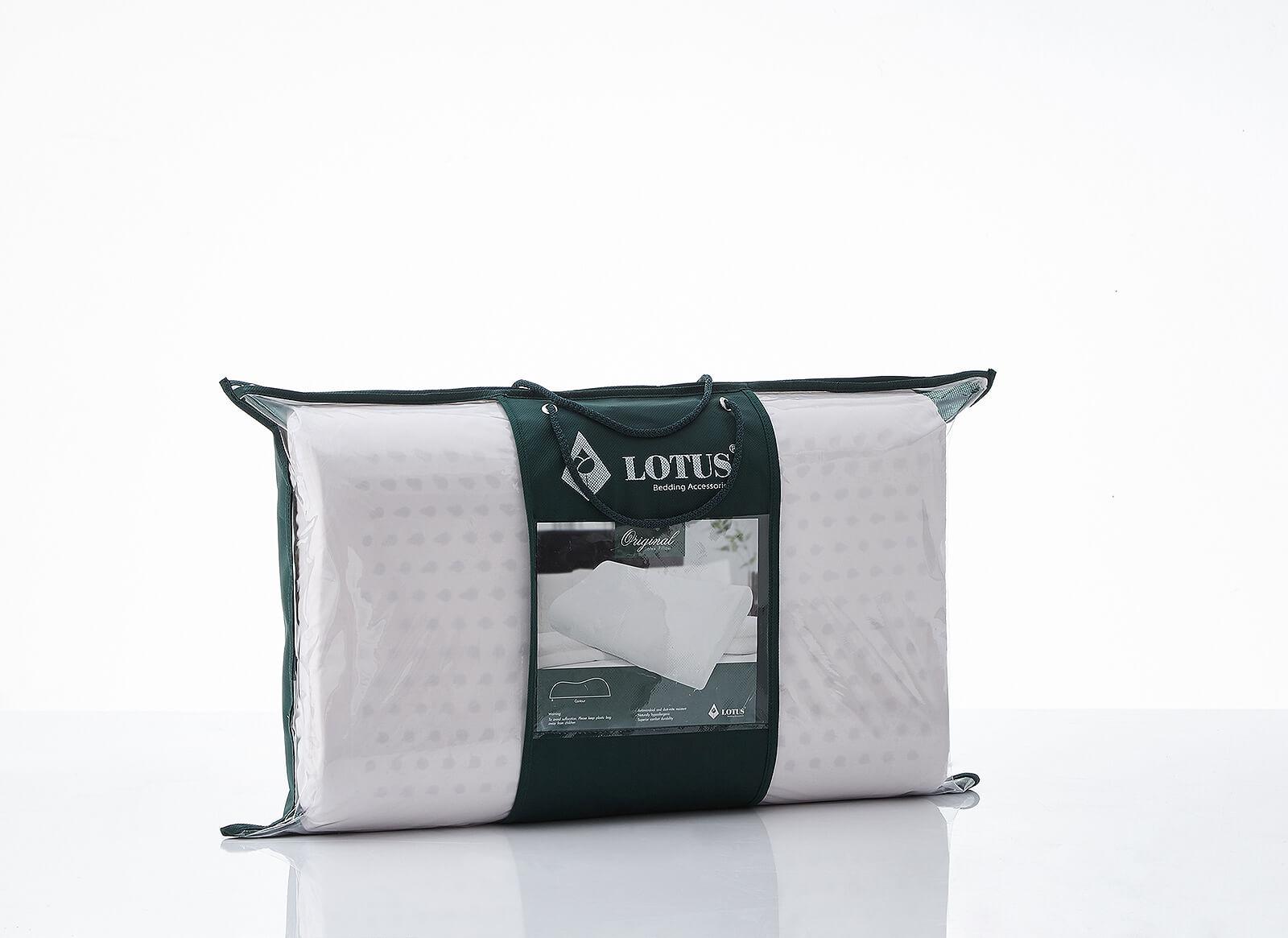 Lotus Neck Contour Pillow