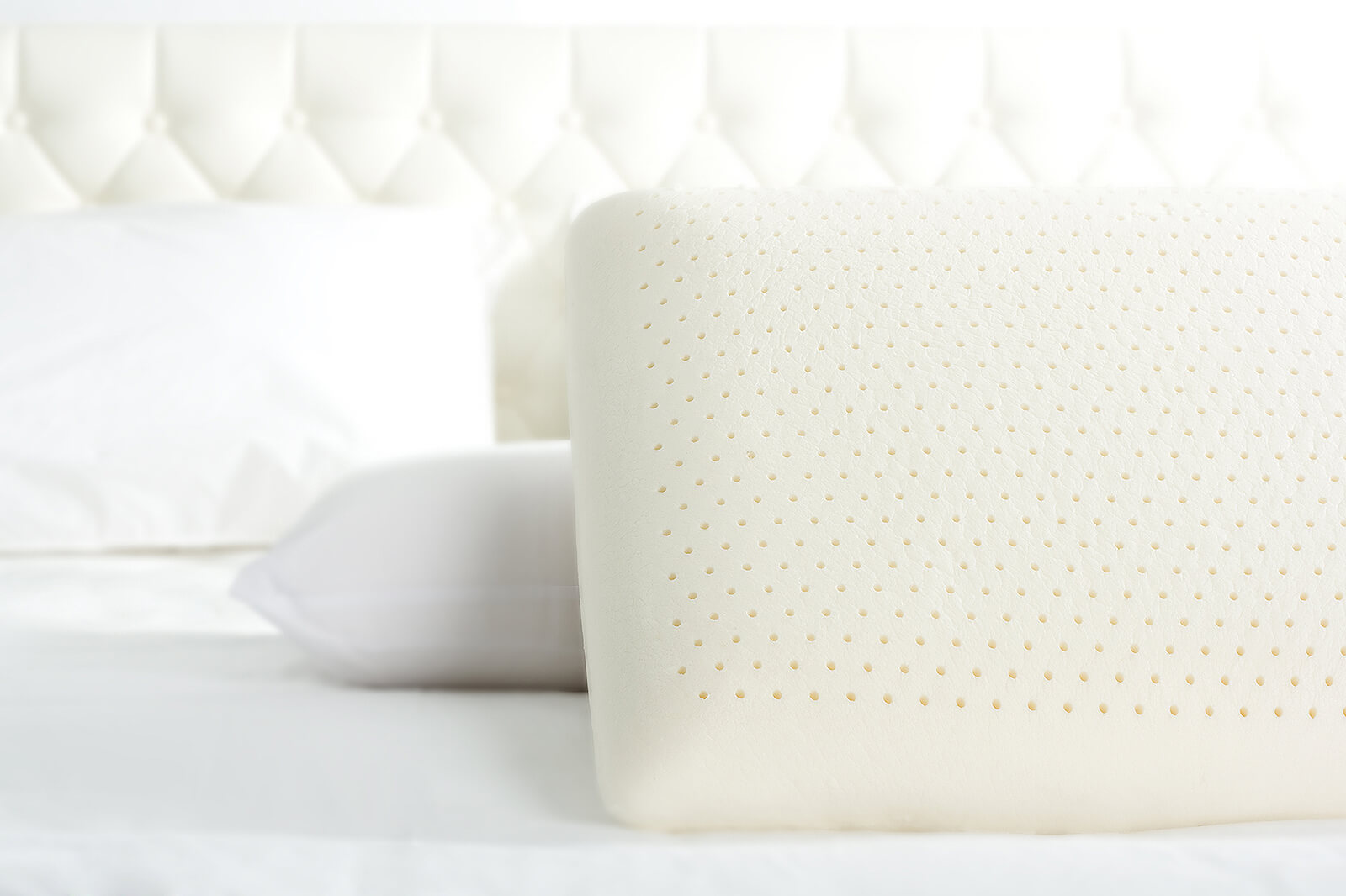 Lotus Accessory Talalay Latex Microfiber Pillow