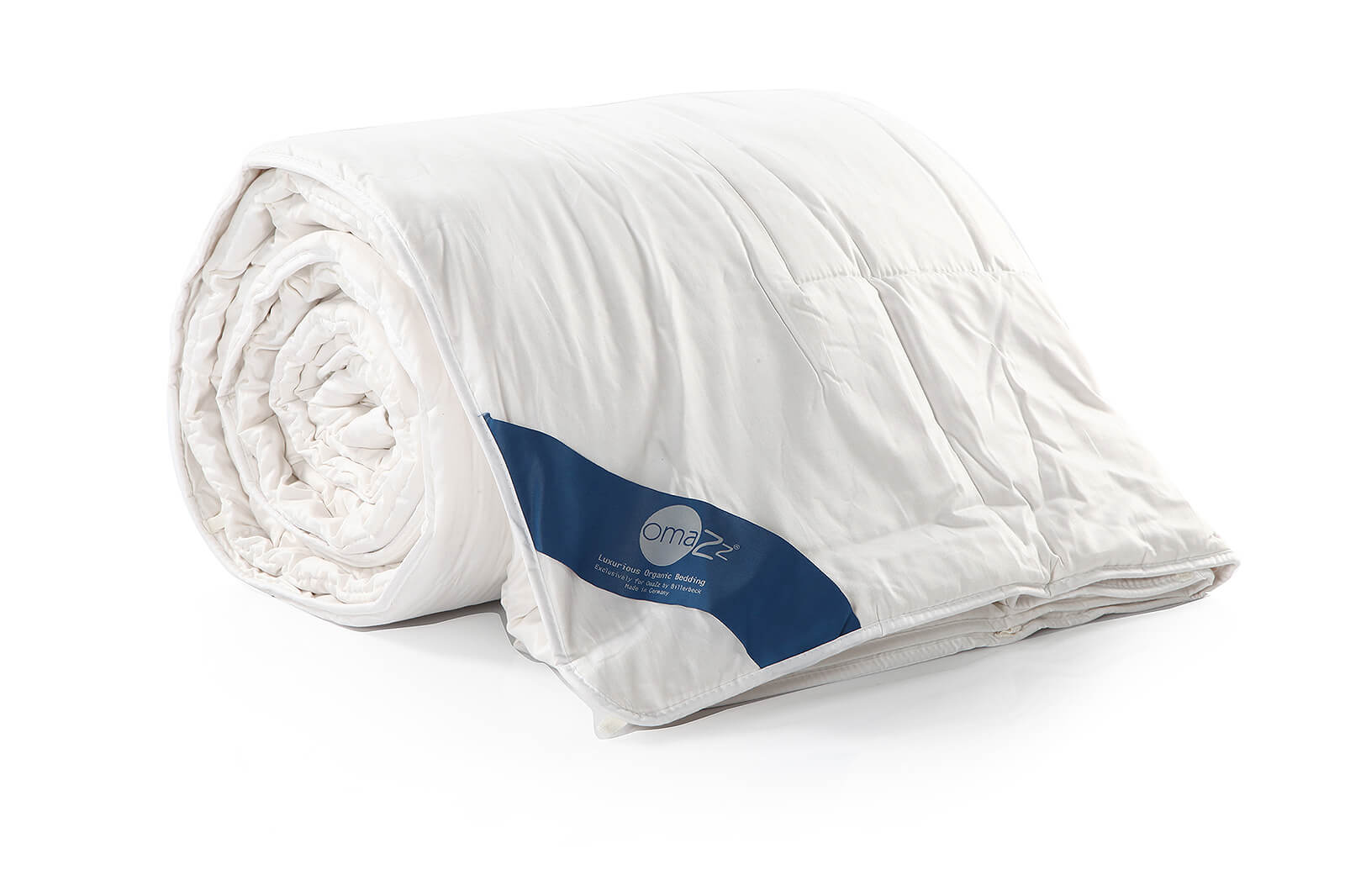 Omazz Accessory Tussah Silk White Goose Down Duvet