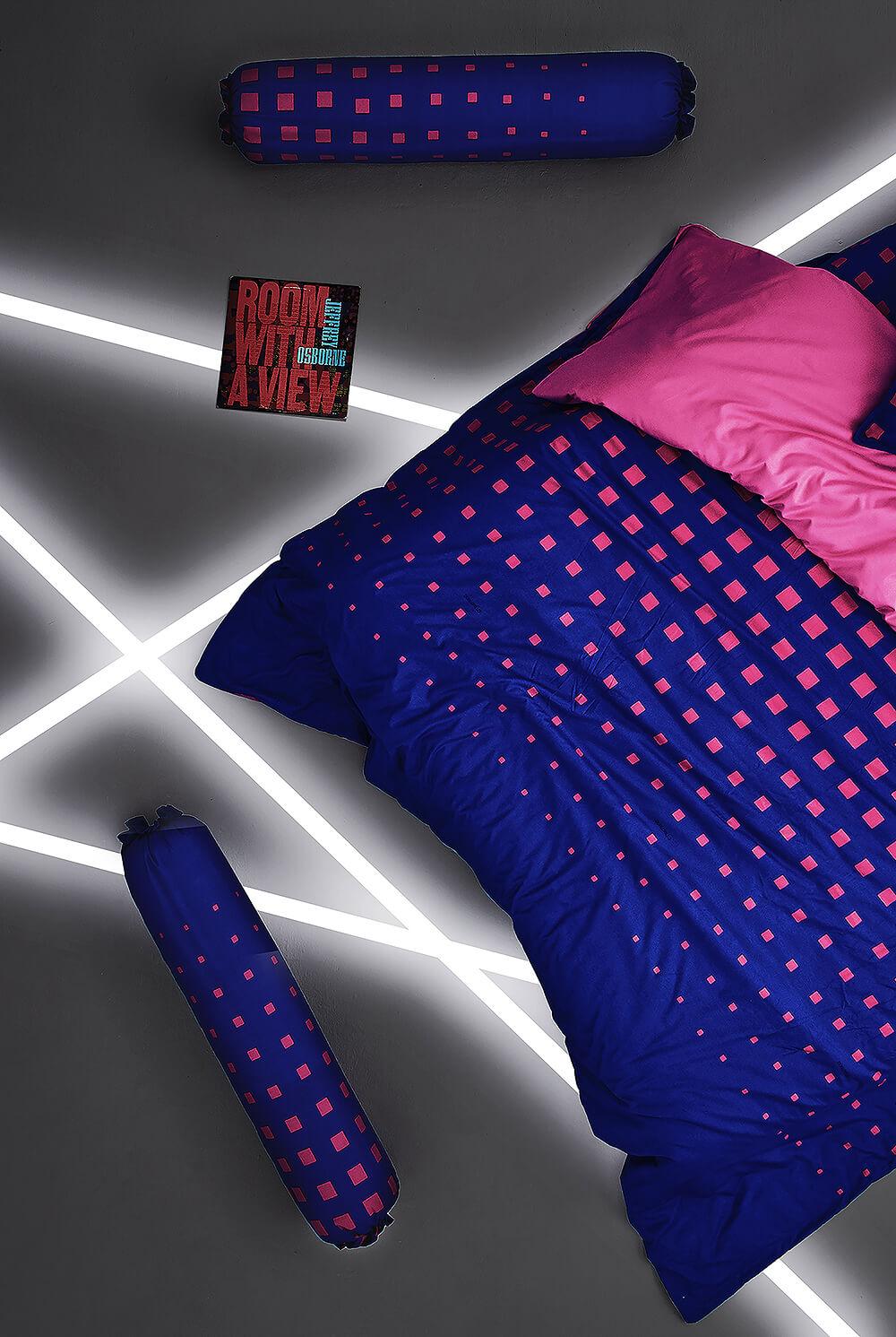 Dunlopillo รุ่น Stella ชุดผ้าปูที่นอน DL-SEXY PINK-S