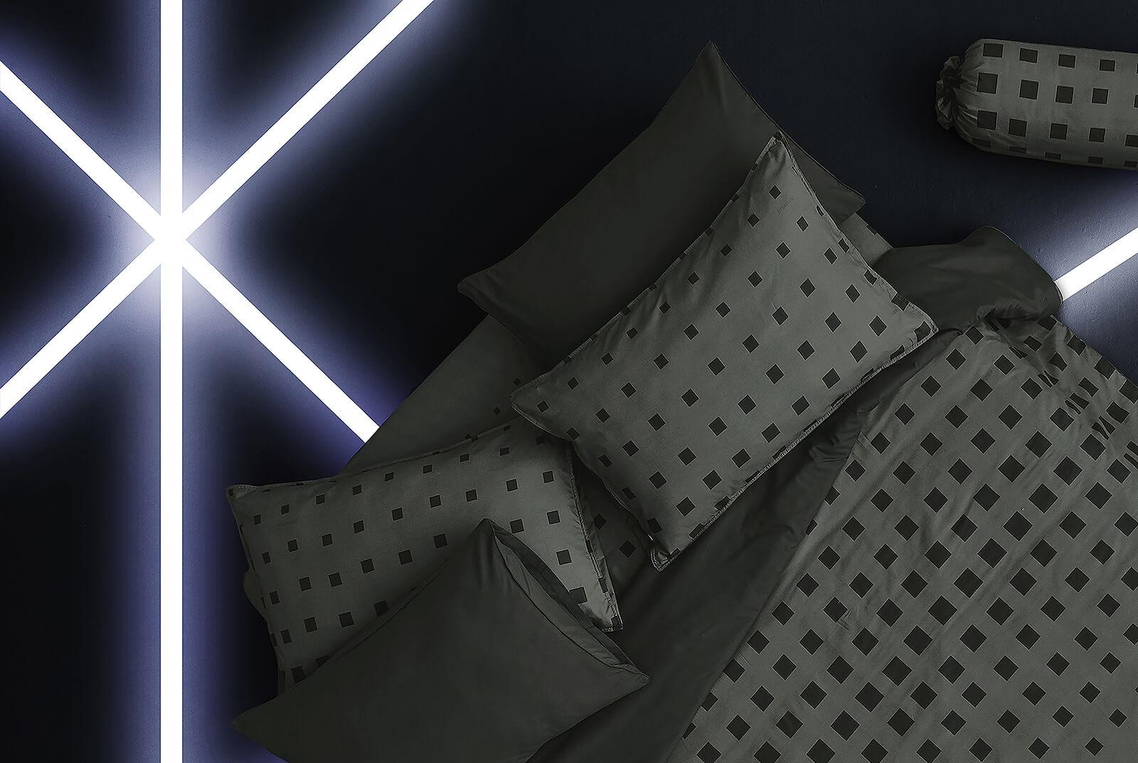 Dunlopillo รุ่น Stella ชุดผ้าปูที่นอน DL-SLATE GREY-S
