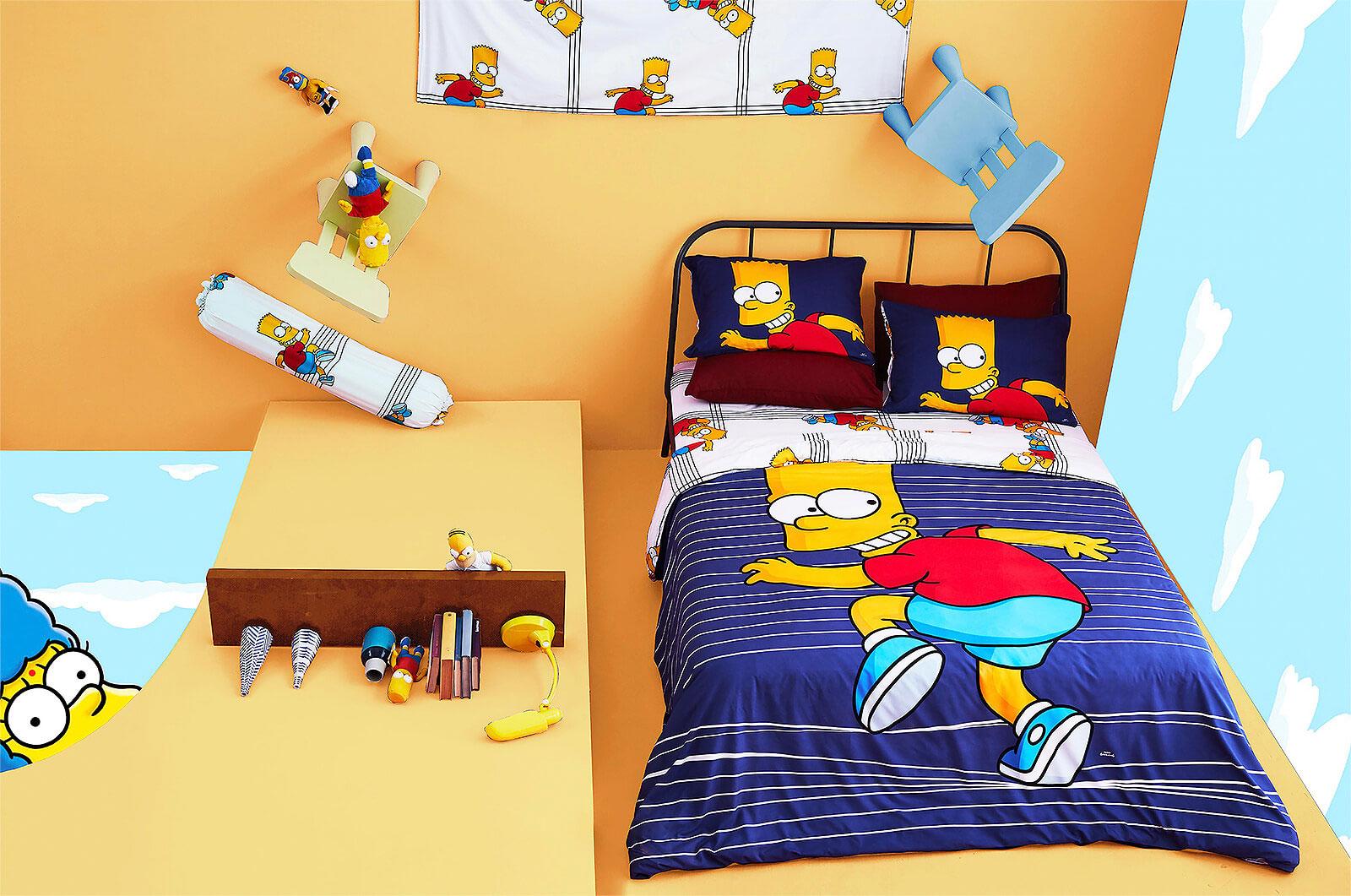 Lotus รุ่น Pop-art The Simpsons ชุดผ้าปูที่นอน LI-SS-01