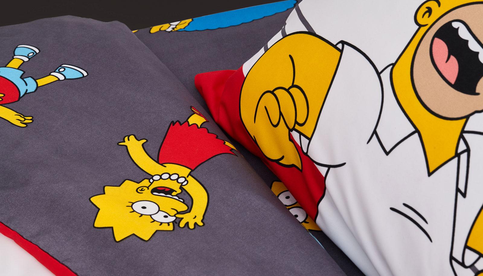 Lotus รุ่น Pop-art The Simpsons ชุดผ้าปูที่นอน LI-SS-02 (3.5 ft.)