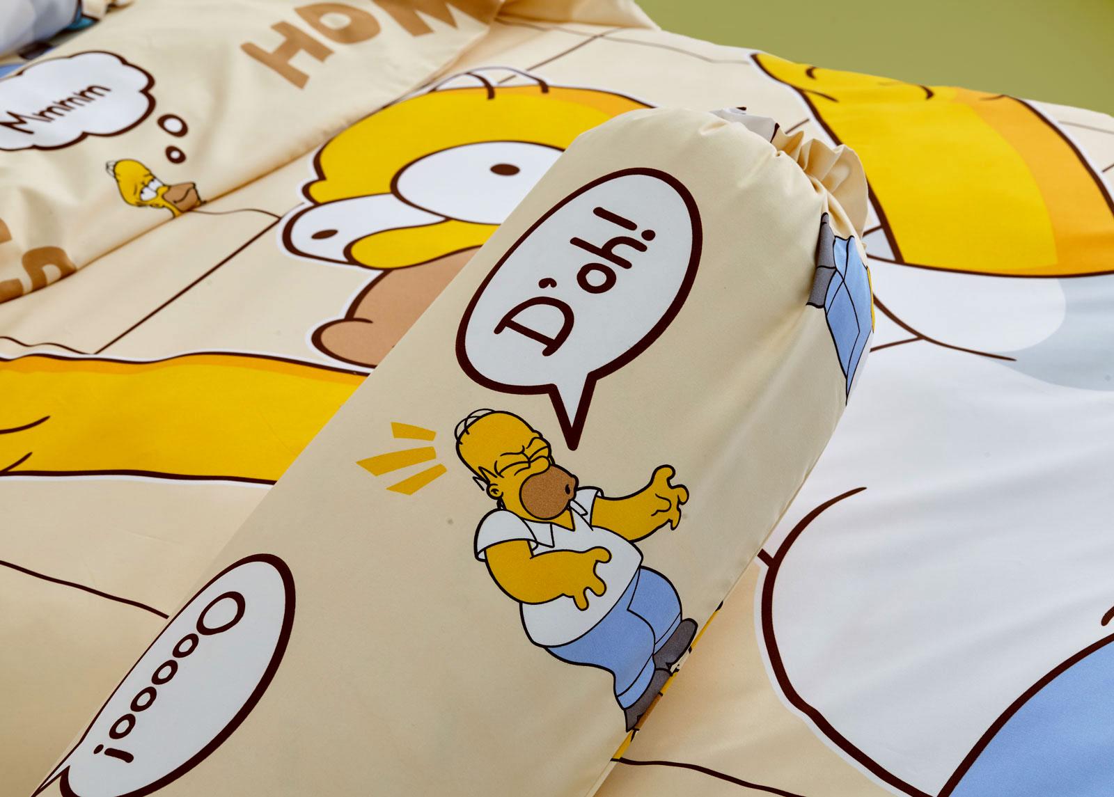Lotus รุ่น Pop-art The Simpsons ชุดผ้าปูที่นอน LI-SS-03 (3.5 ft.)