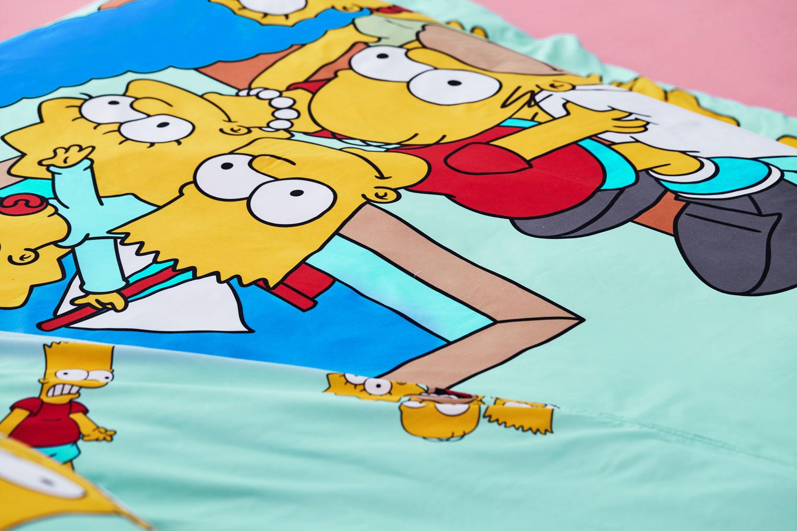Lotus รุ่น Pop-art The Simpsons ชุดผ้าปูที่นอน LI-SS-04