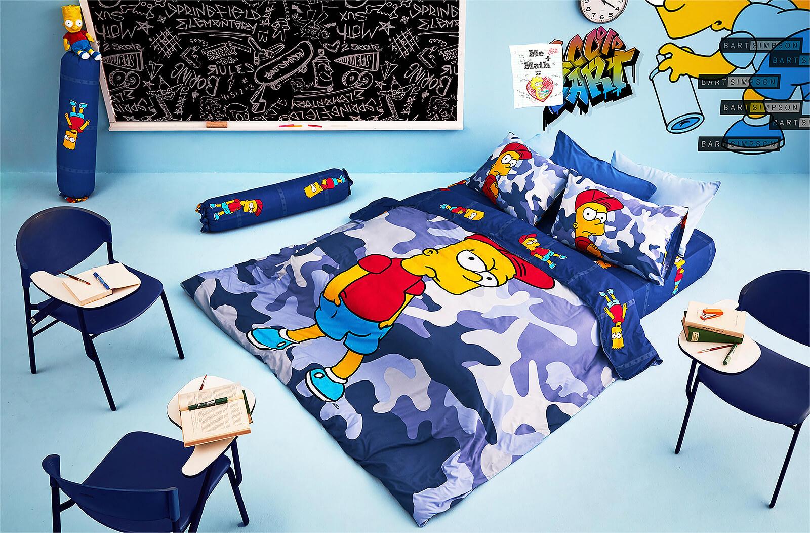 Lotus รุ่น Pop-art The Simpsons ชุดผ้าปูที่นอน LI-SS-06