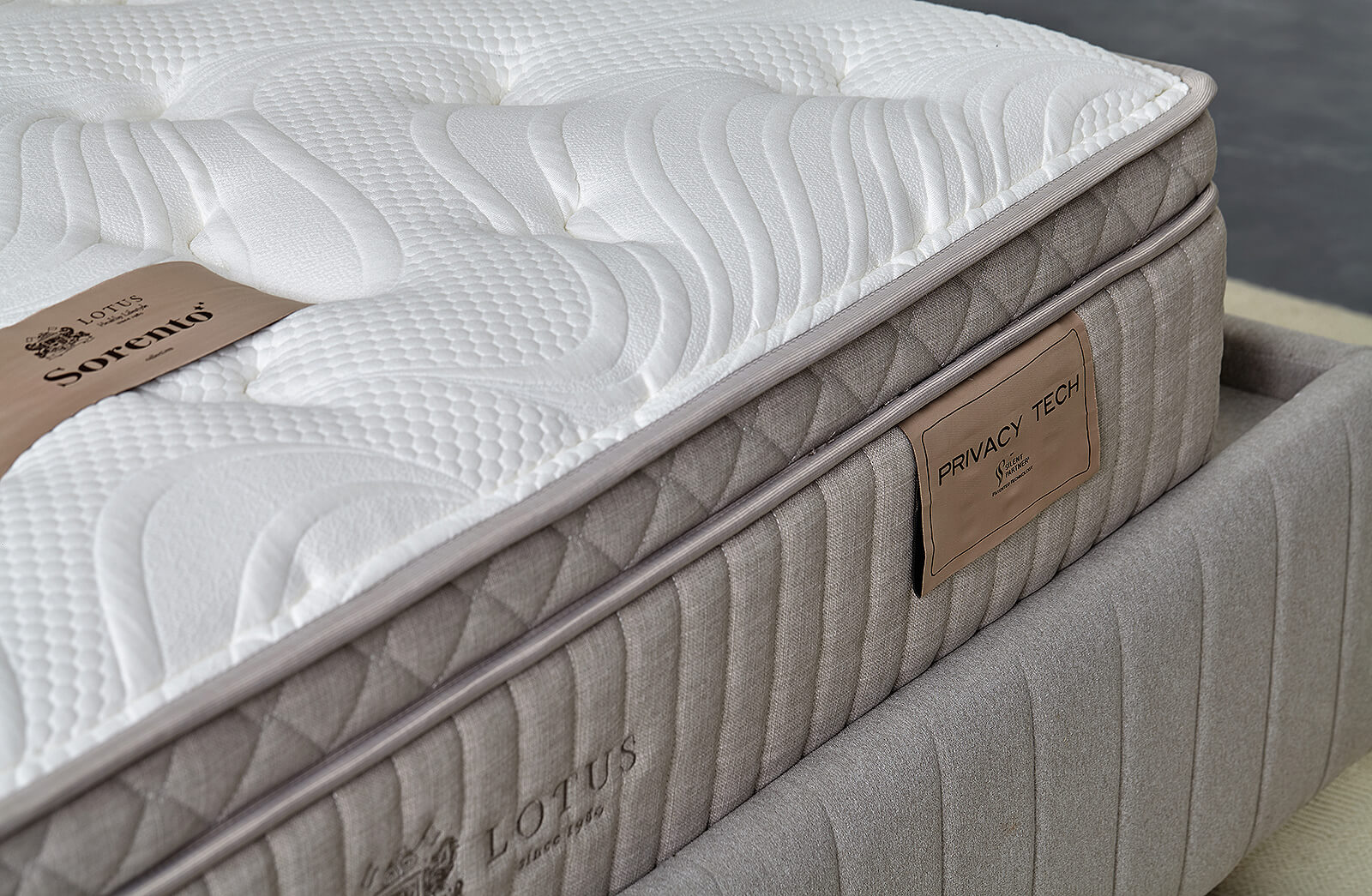 Lotus Mattress Privacy Tech - Sorento