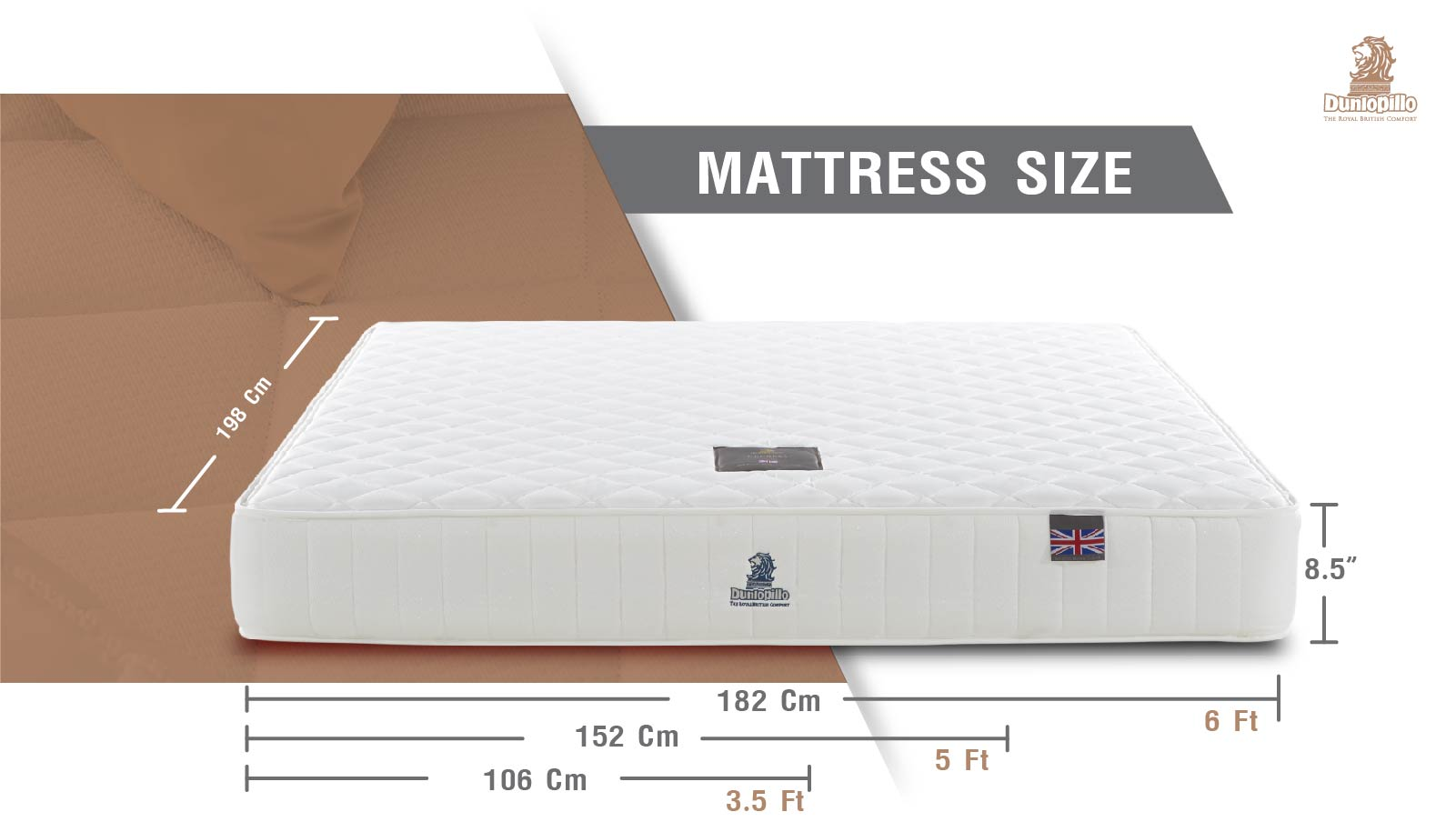 Dunlopillo Mattress - Duchess