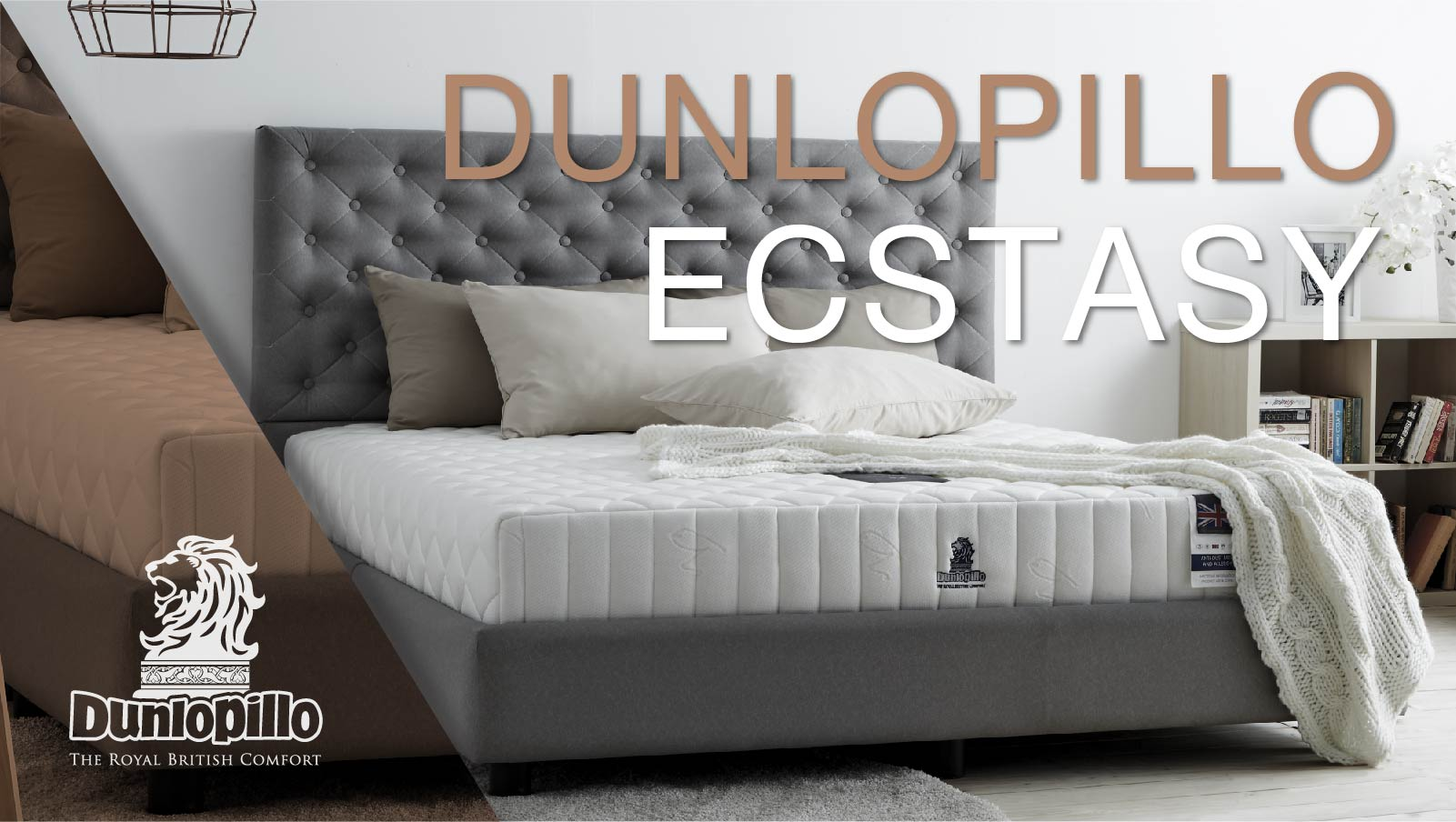 Dunlopillo Mattress - Ecstasy