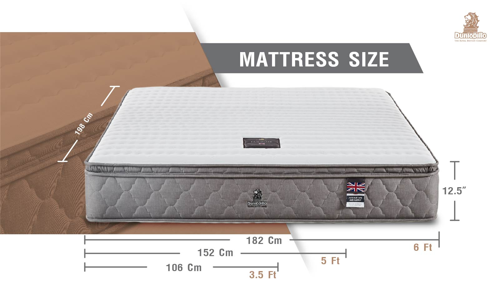 Dunlopillo Mattress - Fascinate