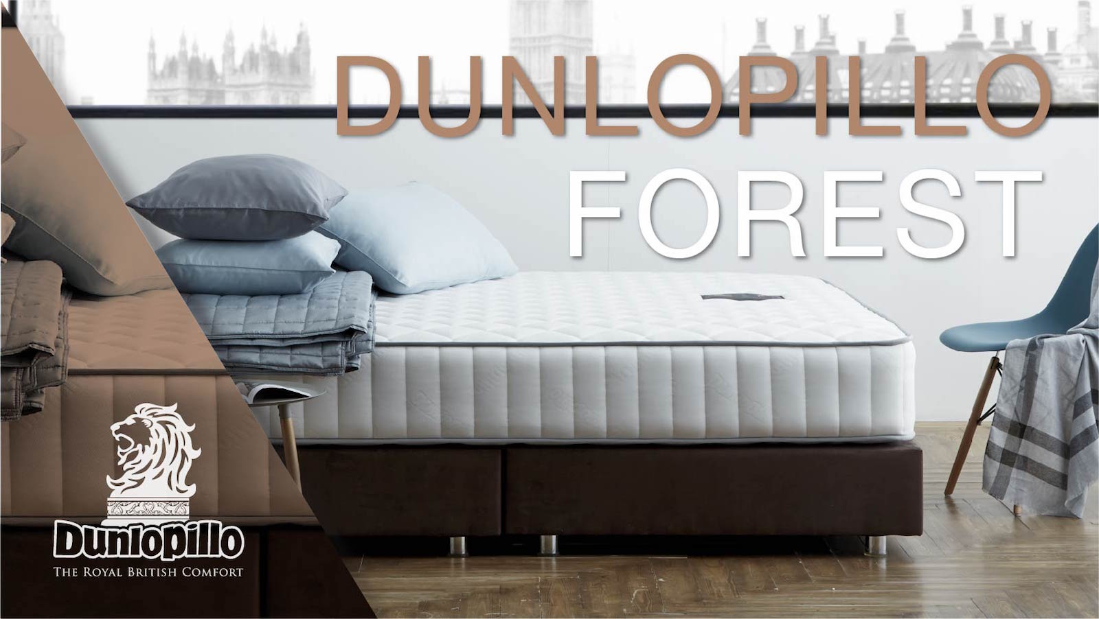 ที่นอน Dunlopillo รุ่น Forest