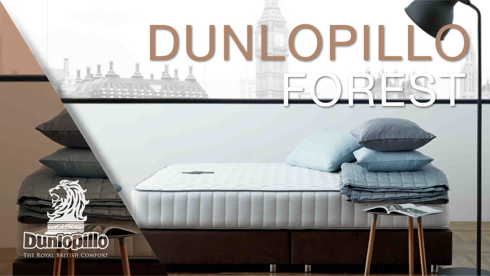 Dunlopillo Mattress - Forest