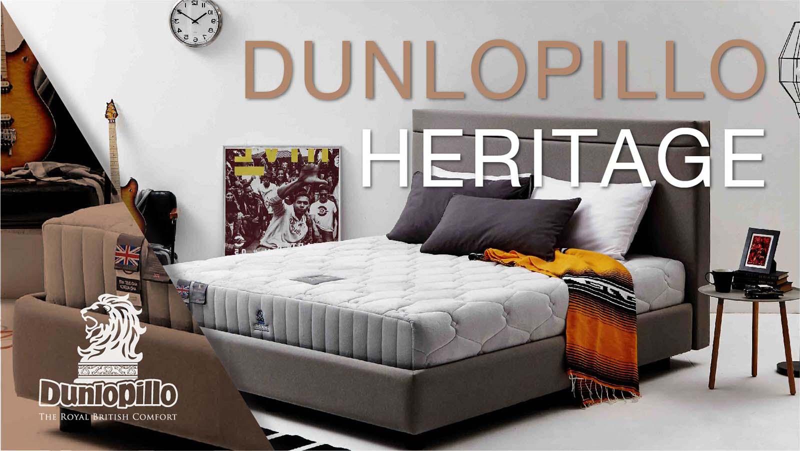 ที่นอน Dunlopillo รุ่น Heritage