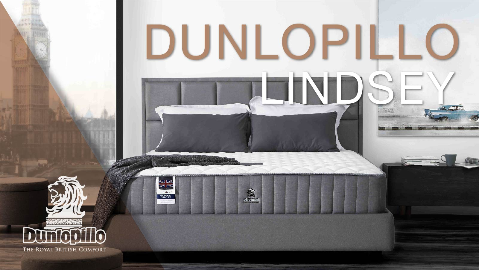 Dunlopillo Mattress - Lindsey