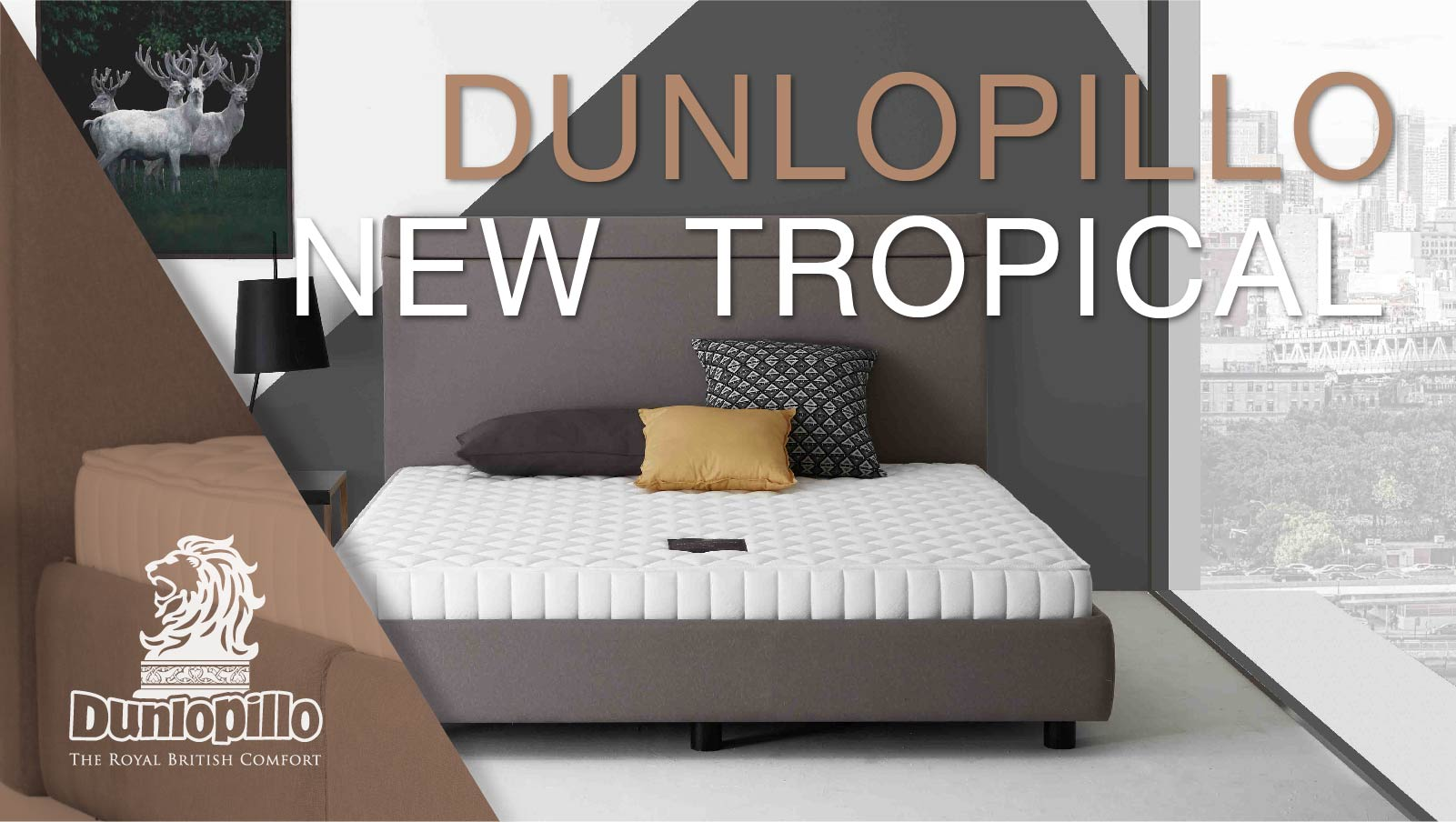 Dunlopillo Mattress - New Tropical