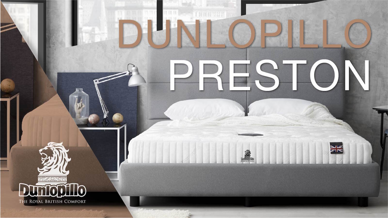 ที่นอน Dunlopillo รุ่น Preston