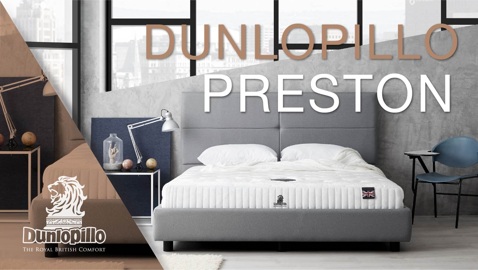 Dunlopillo Mattress - Preston