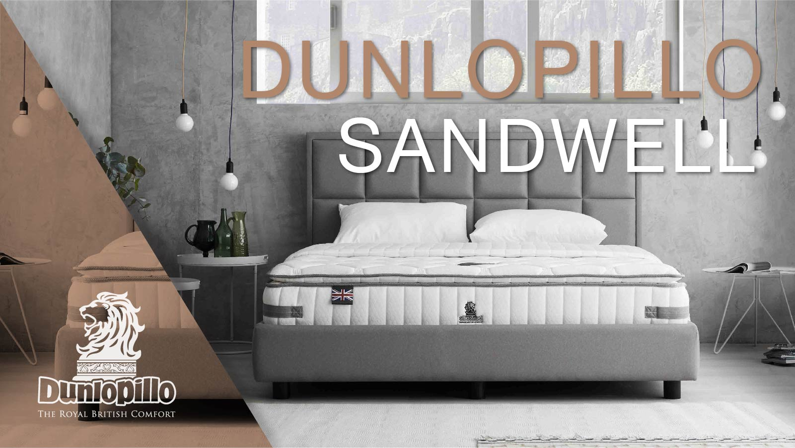 Dunlopillo Mattress - Sandwell