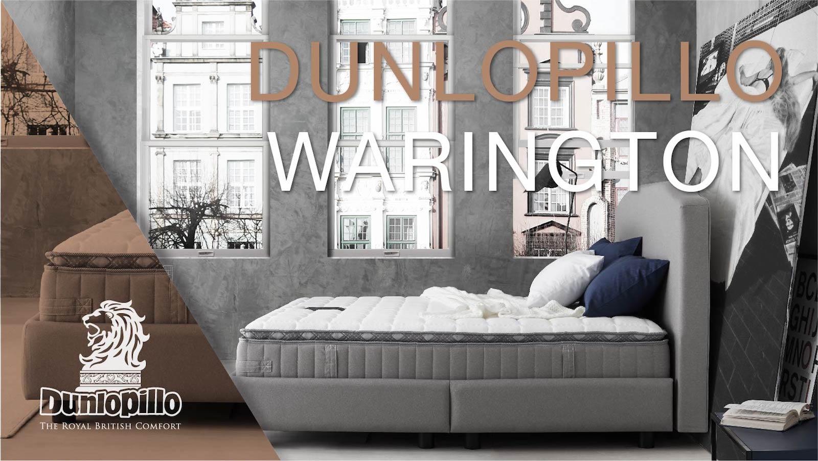 ที่นอน Dunlopillo รุ่น Warrington