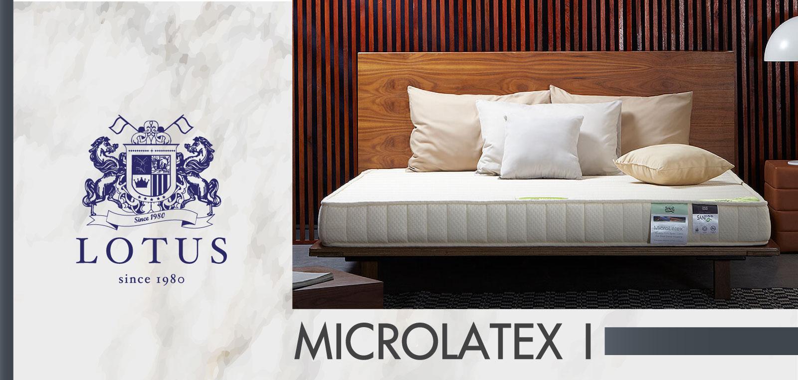 ที่นอน Lotus รุ่น Microlatex I