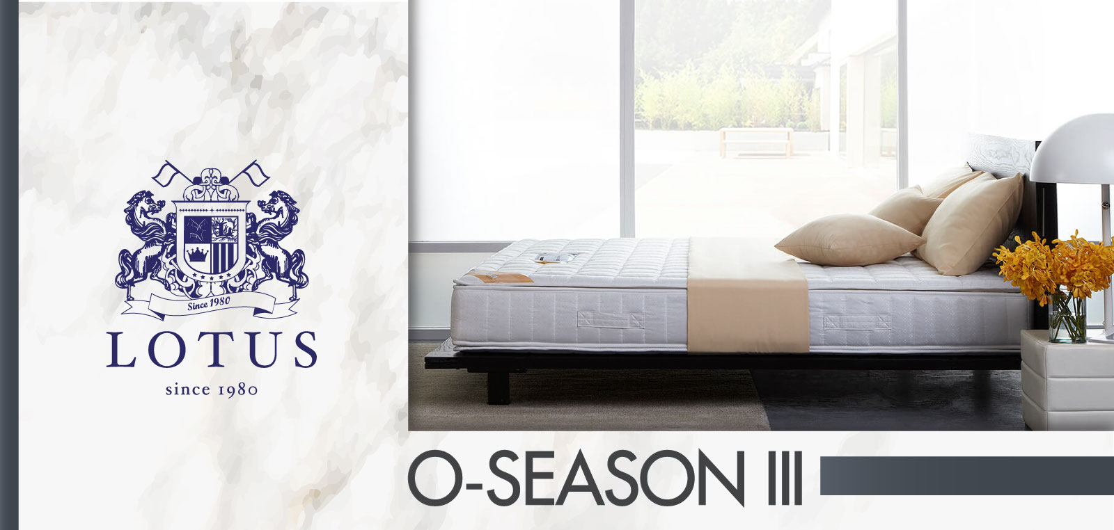 ที่นอน Lotus รุ่น O-Season III