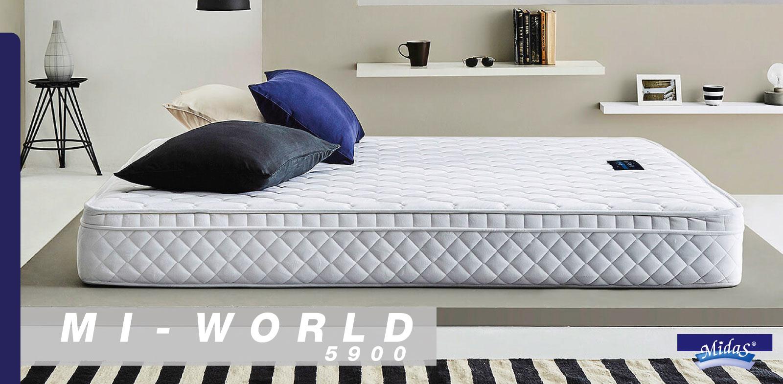 ที่นอน Midas รุ่น Mi-World 5900